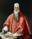 El Greco, St. Jerome, oil on canvas